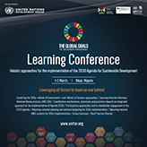 "Upcoming Learning Conference on Developing a ""Holistic Approach for the Implementation of the 2030 Agenda"