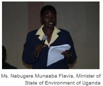 Minister of State of Environment of Uganda