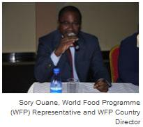 Sory Ouane, World Food Programme (WFP) Representative and WFP Country Director