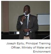 Joseph Epitu, Principal Training Officer, Ministry of Water and Environment
