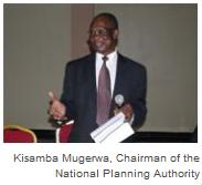 Dr. Kisamba Mugerwa, Chairman of the National Planning Authority