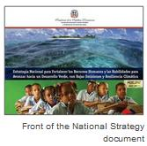 Front of the National Strategy document