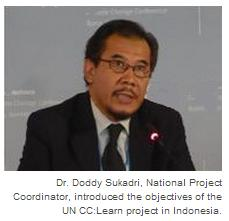 Dr. Doddy Sukadri, National Project Coordinator
