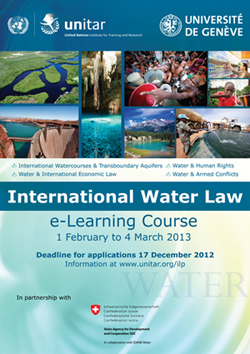 e-Learning Course on International Water Law