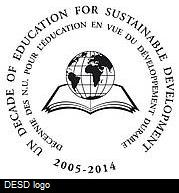 UN Decade of Education for Sustainable Development Logo