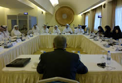 UNITAR workshop in Quatar