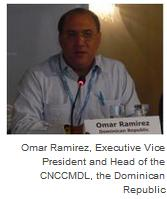 Omar Ramirez, Executive Vice President and Head of the CNCCMDL, the Dominican Republic
