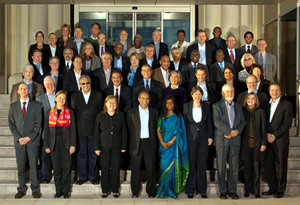 heads of UN peace operations (click to enlarge the photo)