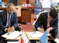 UNITAR Executive Director signs MoU with Governor Yuzaki of Hiroshima Prefecture