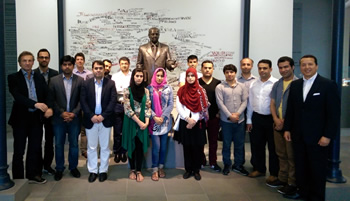 Students from Executive Master's Programme in Istanbul