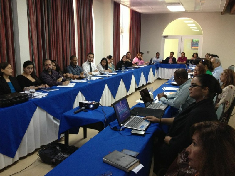 Participants attending the workshop on climate finance
