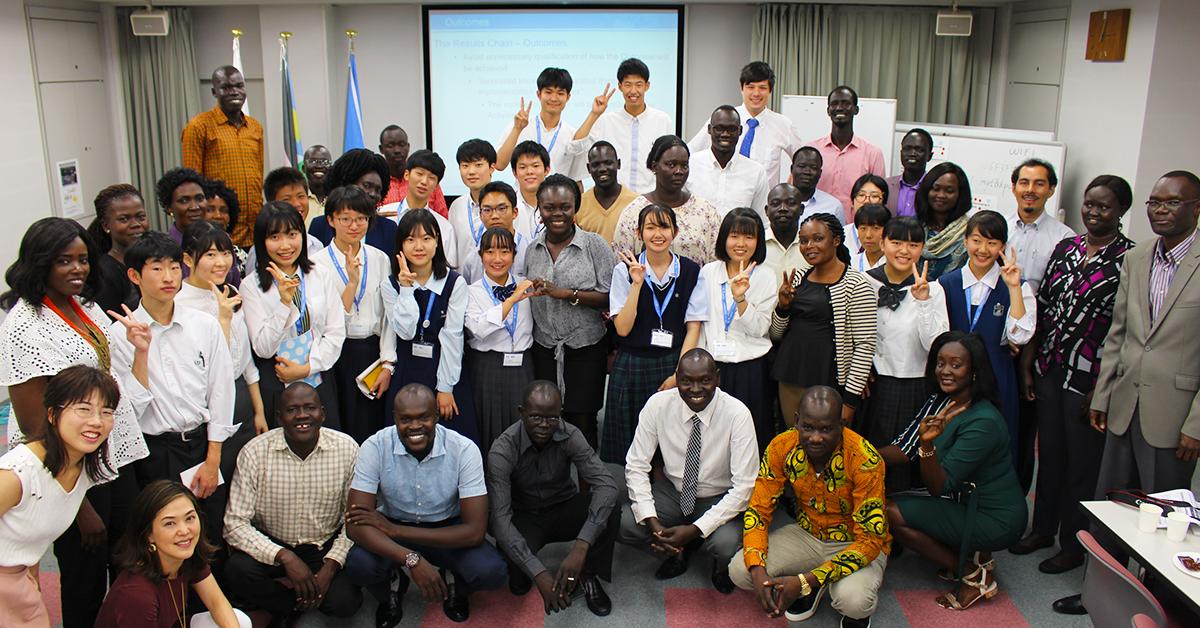 UNITAR HIROSHIMA YOUTH AMBASSADORS SUPPORT  ACTION FOR CHANGE THROUGH THE SDGS