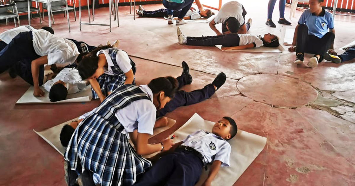 PAINTING THE FUTURE OF YOUNG PEOPLE IN COLOMBIA