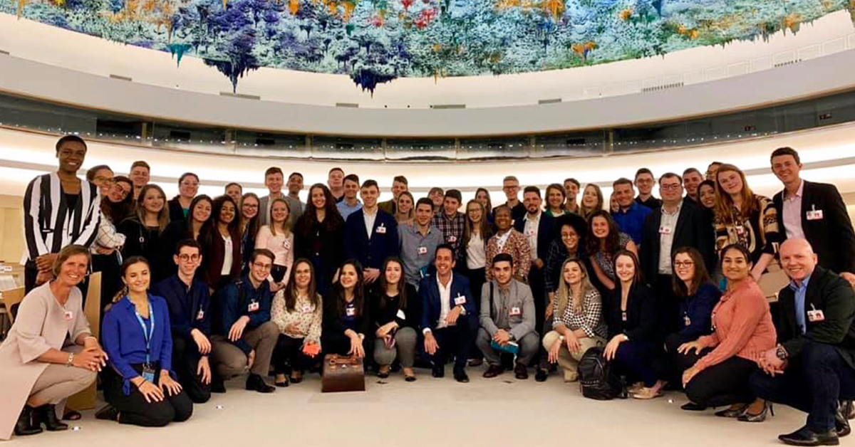 UNITAR WELCOMES INTERNATIONAL YOUTH  TO THE UNITED NATIONS IMMERSION PROGRAMME