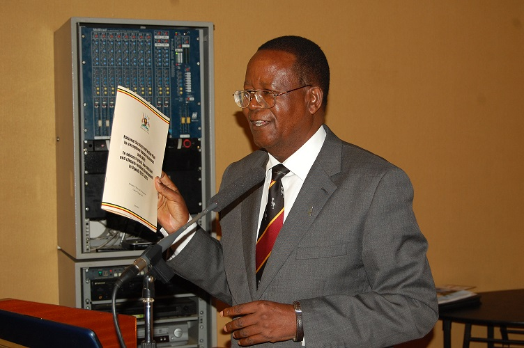 H.E. Prof. Ephraim Kamuntu, Minister of Water and Environment of Uganda