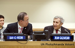 UN SG with Mr. Jean Gazarian