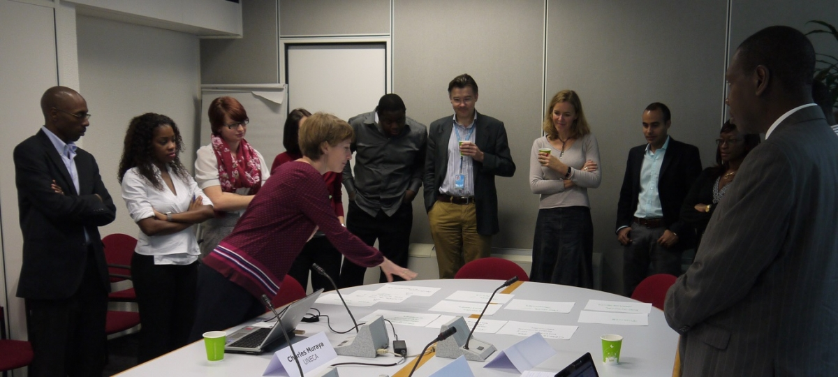 Reporting back from the working groups on defining good UN CC:Learn learning practices.