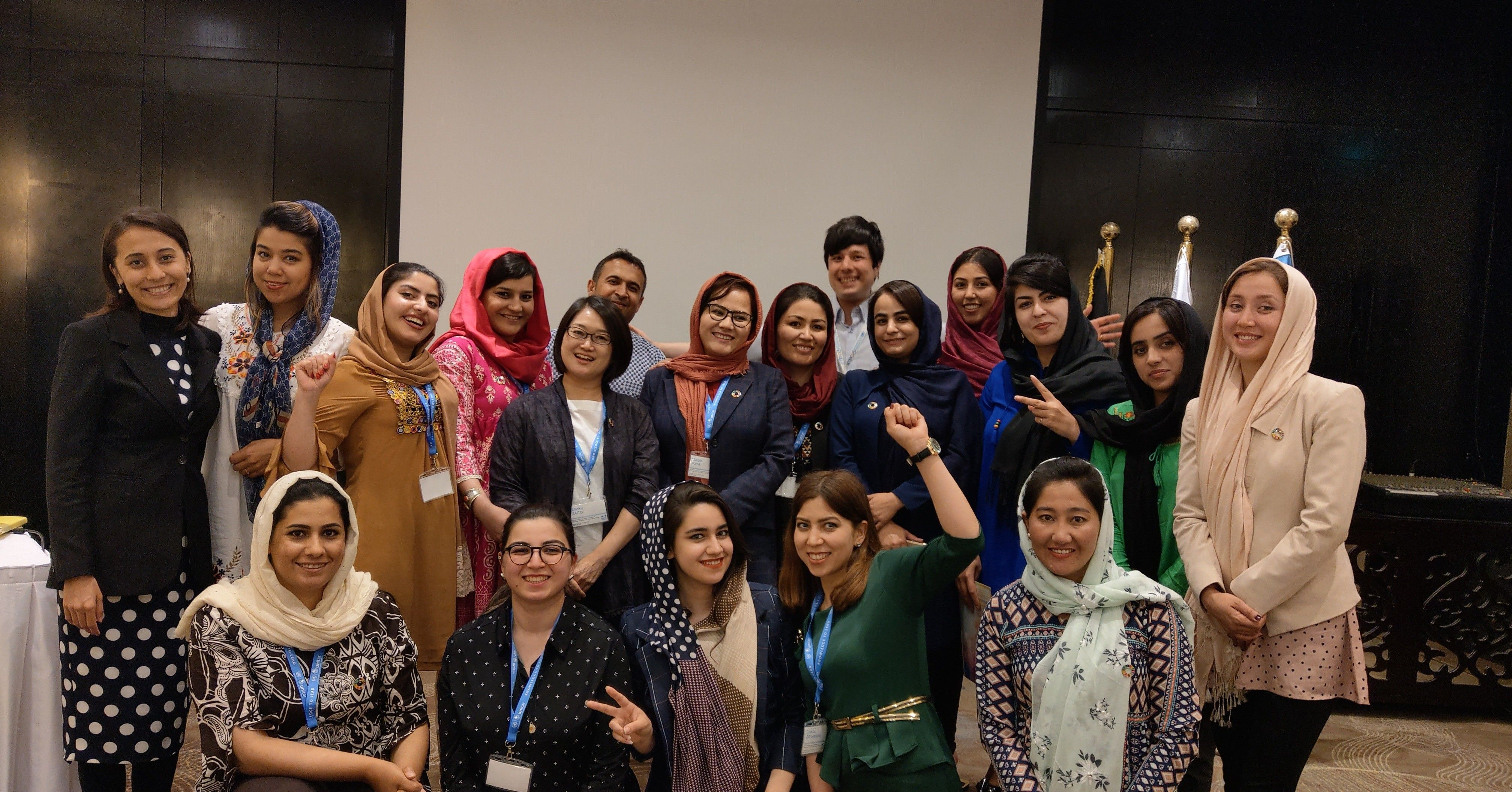Photo of Women's Leadership Programme for Afghanistan 2019 Participants and Resource Persons