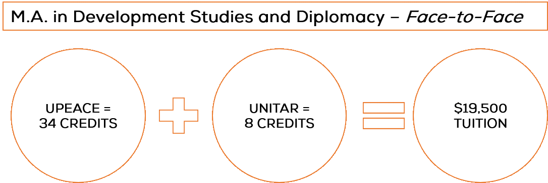 M.A. in Development Studies and Diplomacy: Face-to-Face