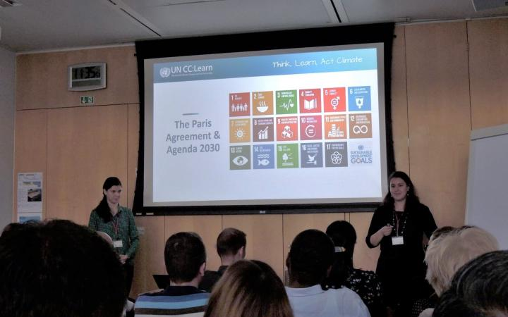 Climate Classroom @ Nestle's SHE Days 2019