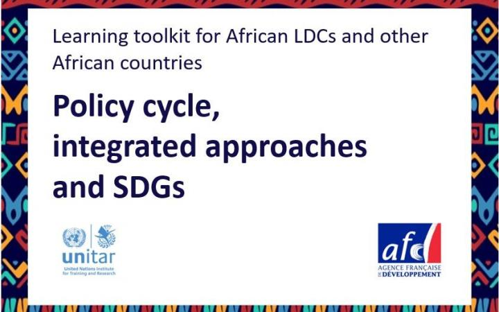 Policy cycle, integrated approaches and SDGs