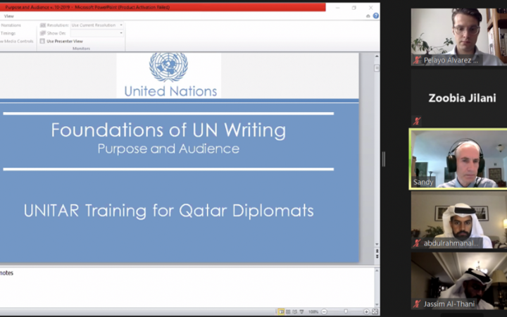 Foundations of UN Writing