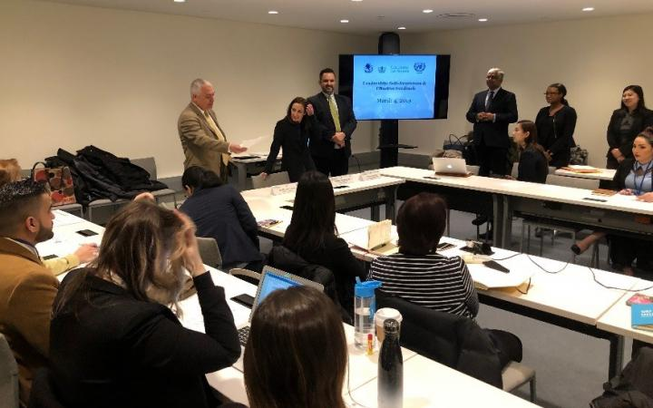 UNITAR NYO Begins Columbia Law School Series on Leadership & Self-Awareness