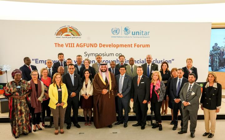 AGFUND UNITAR Partnership on Financial Inclusion