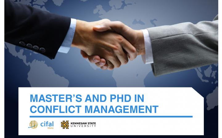 Master's and PhD in Conflict Management