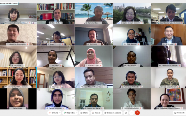 Participants of the 2021 training programme