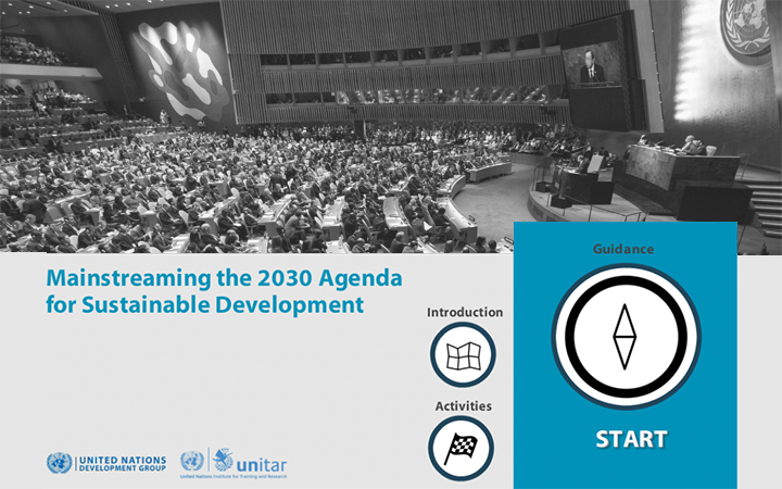 E-tutorial_Mainstreaming the 2030 Agenda for Sustainable Development_English