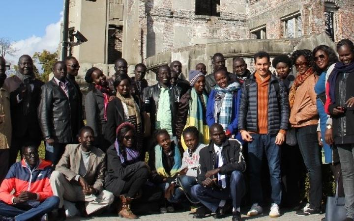 30 Young South Sudanese Professionals Join UNITAR Leadership and Entrepreneurship Workshop in Hiroshima