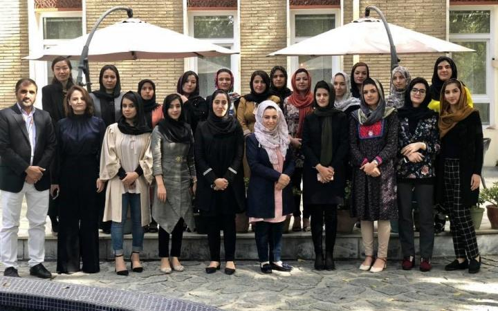 UNITAR and Japan launch the UNITAR Women's Leadership Programme for Afghanistan: Governance and the SDGs