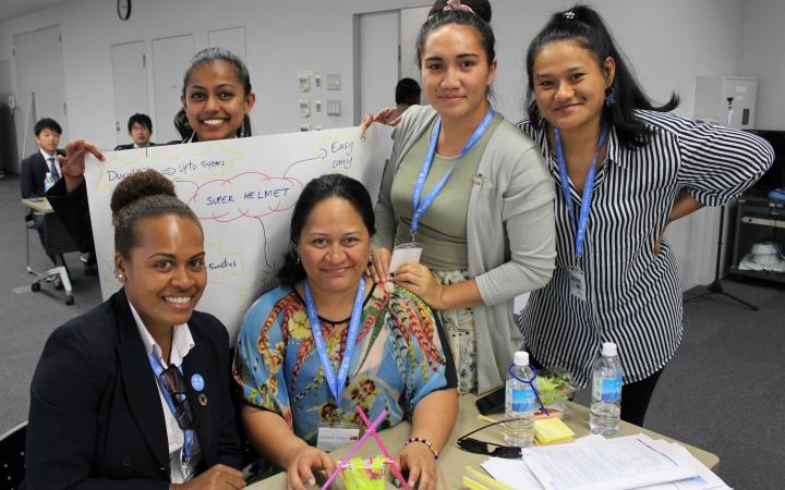 UNITAR Women's Leadership in Tsunami-based Disaster Risk Reduction for Small Island Developing States