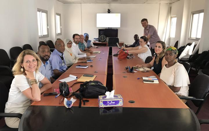 Partner organisations are meeting in Djibouti