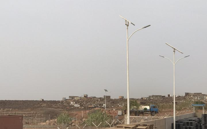 Solar panels in Djibouti