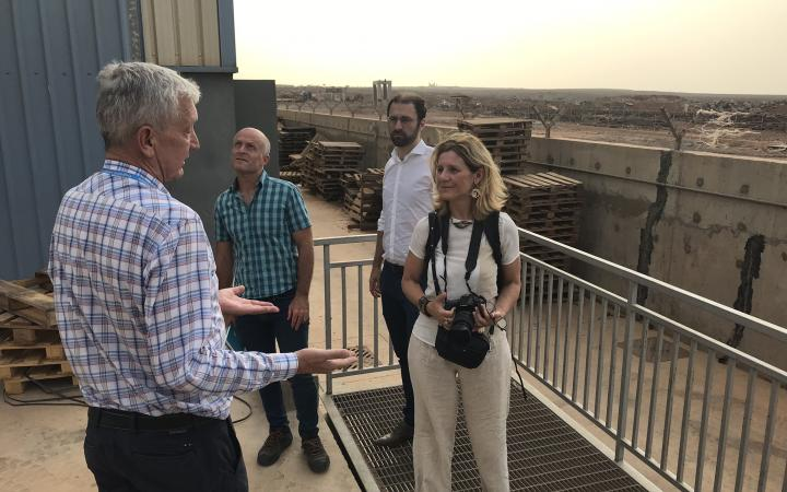 Partners visiting Djibouti refugee camps