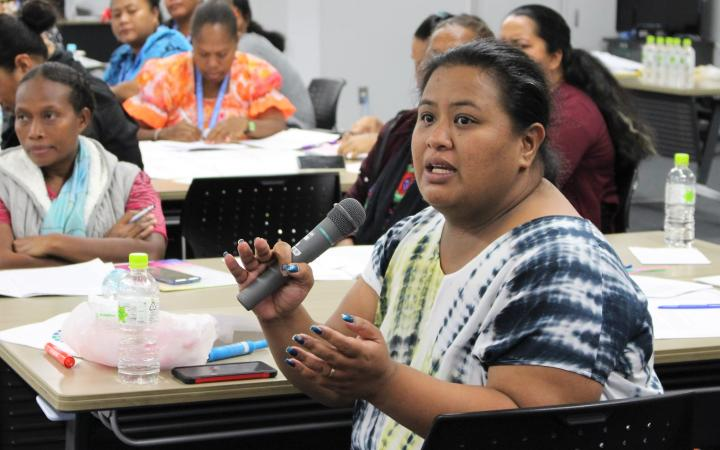 UNITAR Hiroshima Disaster Risk Reduction Women's Leadership Training Programme Participant