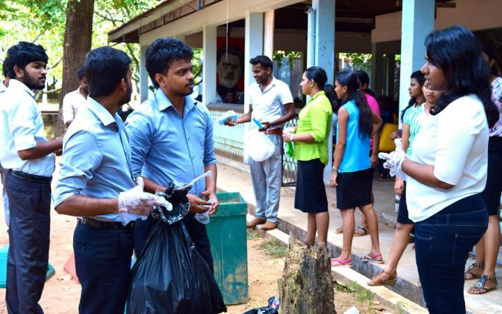 Promoting Sustainable Consumption and Production Patterns in Schools and Universities in Sri Lanka