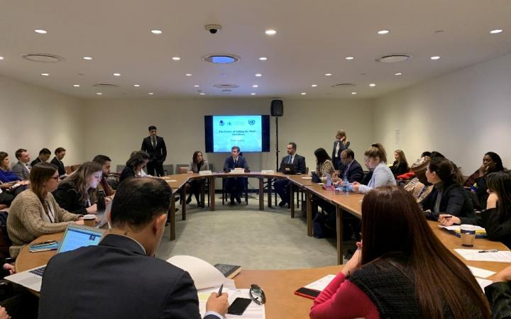 UNITAR Delivers Second Lecture with Columbia Law School