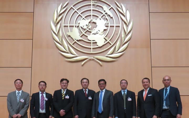 UNITAR and China's Ministry of Science and Technology explore joint International Training Programme for Chinese Officials