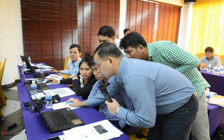 Embracing GIS in Cambodia