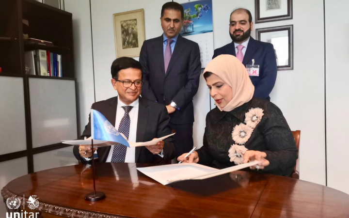 UNITAR partners with Omnia Education Partnerships and Finn Church Aid