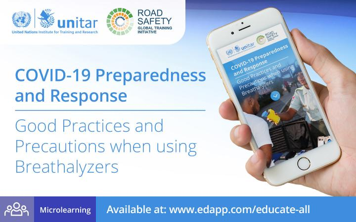 COVID-19 PREPAREDNESS AND RESPONSE: GOOD PRACTICES AND PRECAUTIONS WHEN USING BREATHALYZERS