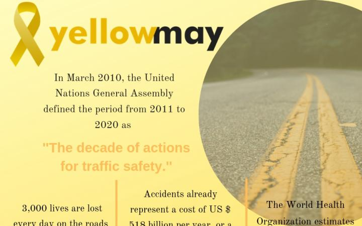 CIFAL Curitiba Promotes the Yellow May Campaign to Advance Road Safety in the State of Parana in Brazil