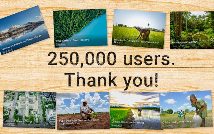 UN CC:elearn reaches 250,000 users