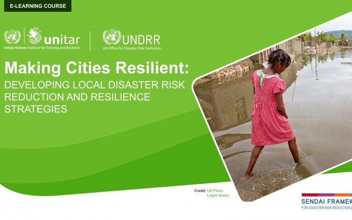 Making Cities Resilient: Developing Local Disaster Risk Reduction and Resilience Strategies