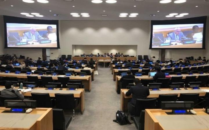 ECOSOC adopts a draft resolution on UNITAR (E/2019/L.12)