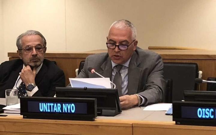 Head of UNITAR Office in New York, Marco Suazo