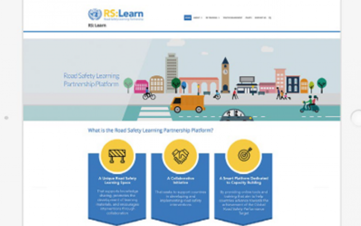 ROAD SAFETY LEARNING AND PARTNERSHIP PLATFORM 'RS:LEARN'